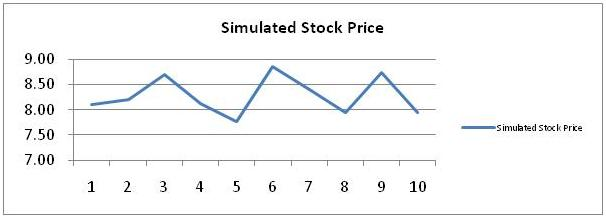 Simulated Stock Price 9
