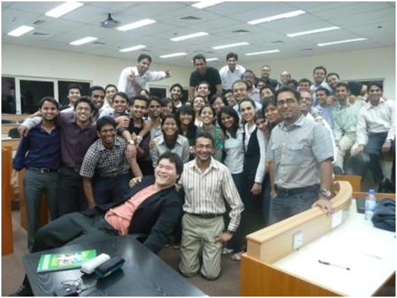 Finance Training Courses across the world – Jawwad Farid and his students