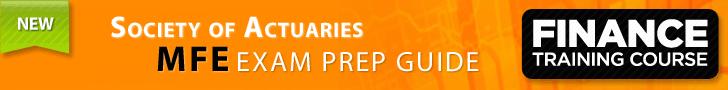 SOA MFE / CAS 3F Exam Prep Guide