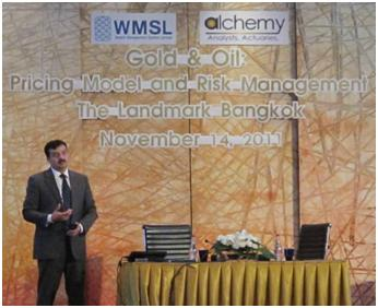 Oil and Gold Models workshop - Bangkok, 14 November 2011