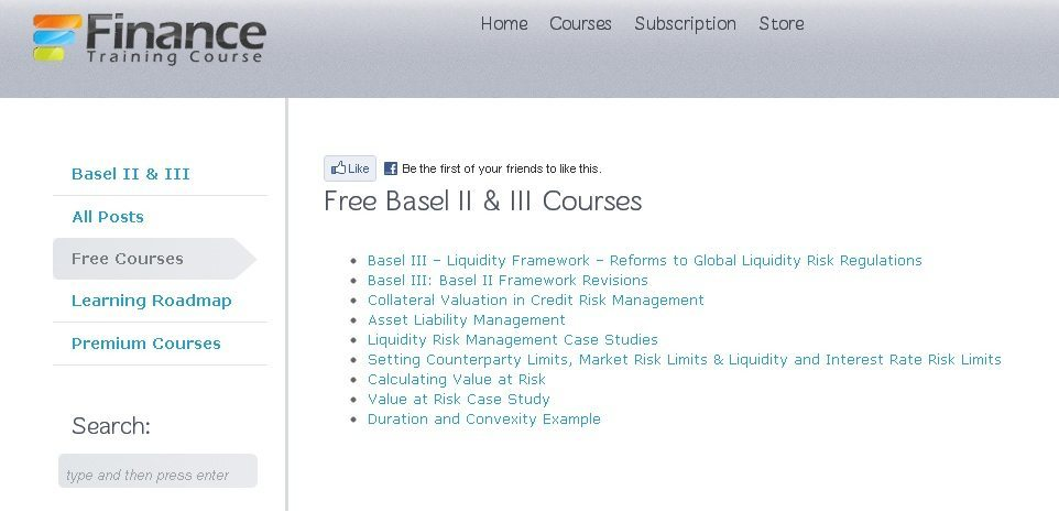 Revealing the brand new interface of FinanceTrainingCourse.com