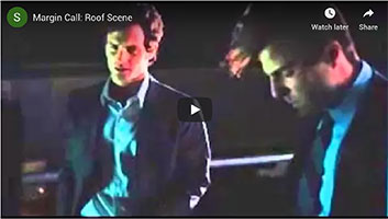 Roof scene from the movie Margin Call