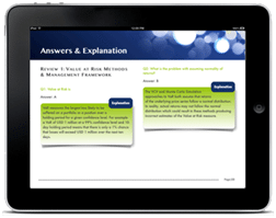 Calculating Value at Risk and Asset Liability Management Test bank now live on the Apple iTune store.