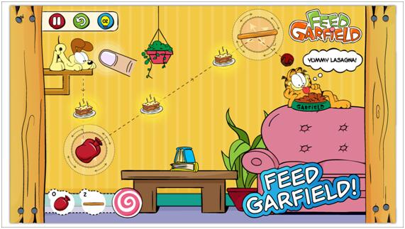 Feed Garfield out on the iPhone tops China charts