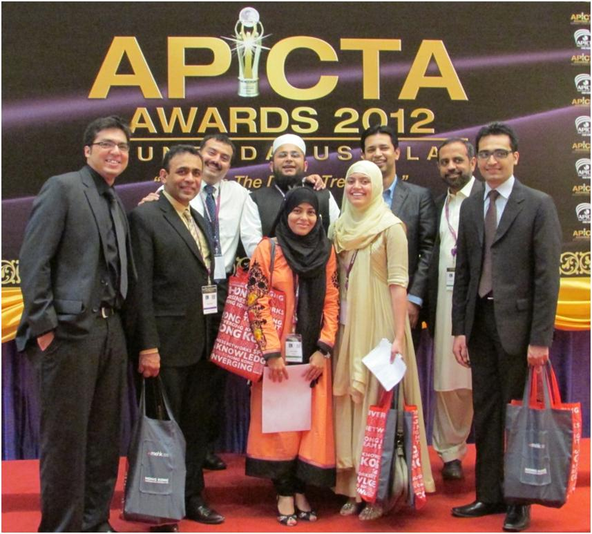 APICTA 2012 Brunei: Team Pakistan picks up four silvers at the Empire, Brunei Darussalam.