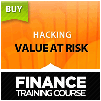 Value at Risk - Training