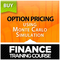 Option pricing using Monte Carlo Simulation