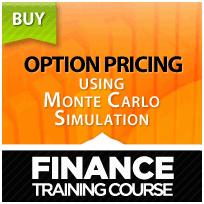 Option pricing using Monte Carlo Simulation