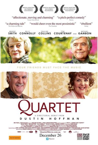 The Quartet. Old age is not for sissies.