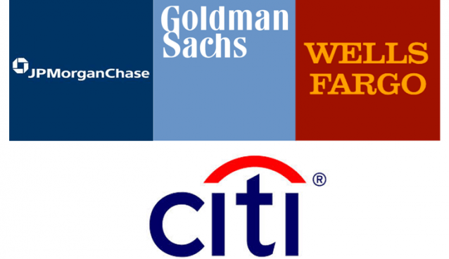 Economic Capital - Case Study using Goldman, JP, Wells & Citi datasets