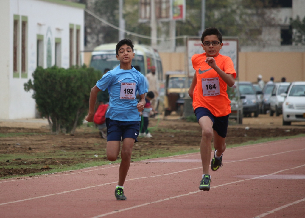 Shahmir and Rayan Raza - 100m sprint