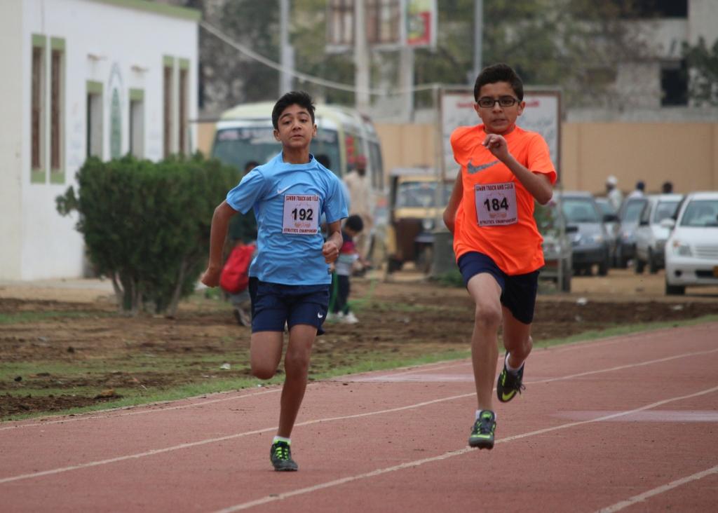 Shahmir and Rayan Raza - 100m sprint