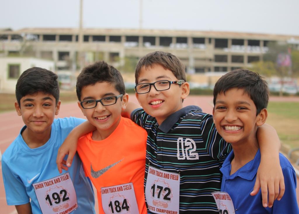 The-winning-relay-team