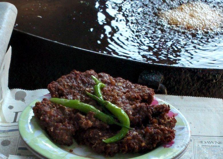 Chapli-kebab