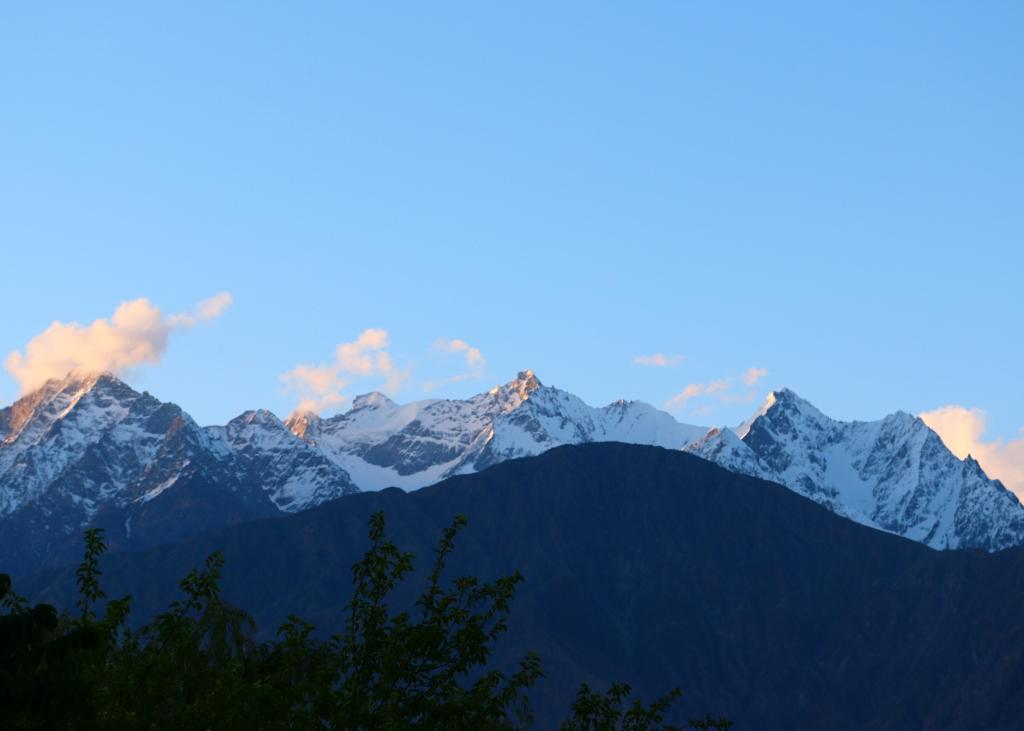 Gilgit-Mountain-side