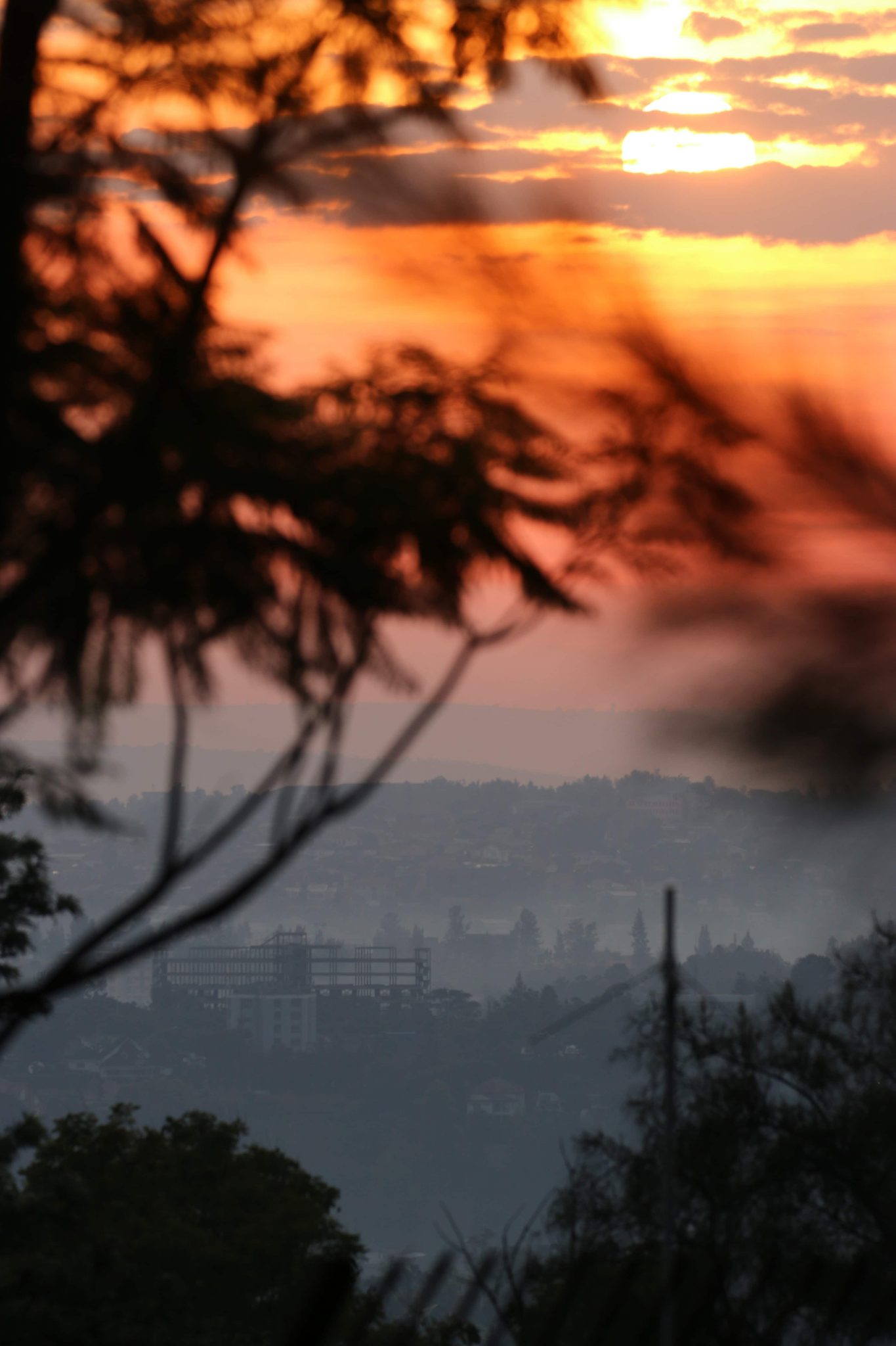 The Kigali Rwanda sunrise is not to be missed