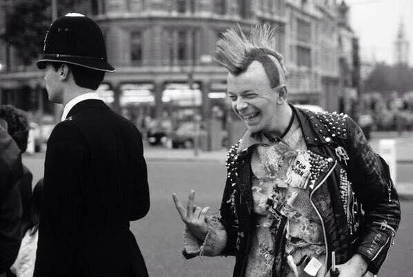 Nigel Farage. Early days circa 1983.