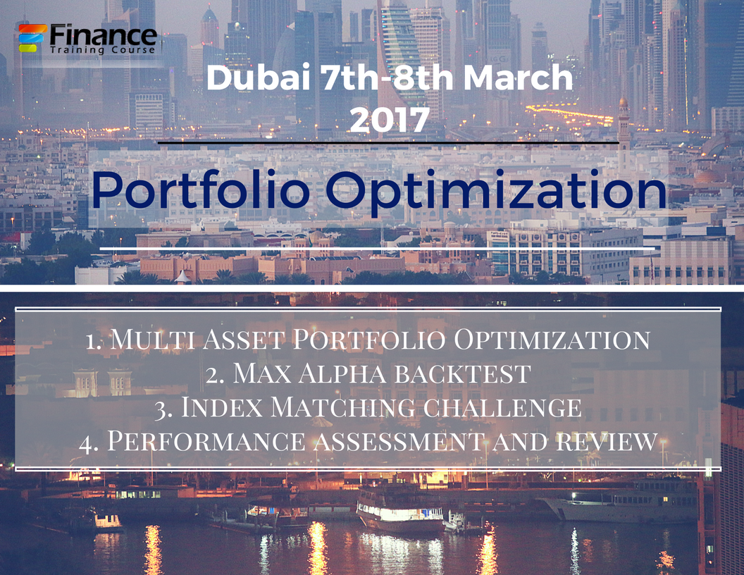 Portfolio Management Training Workshop - Dubai Dates - March 2017