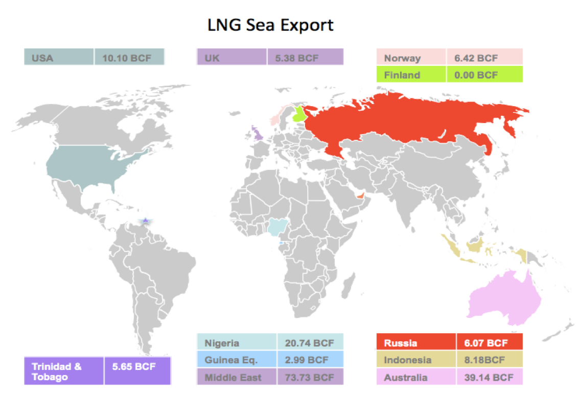 LNG Natural Gas Market Update – 8th - 12th May 2017