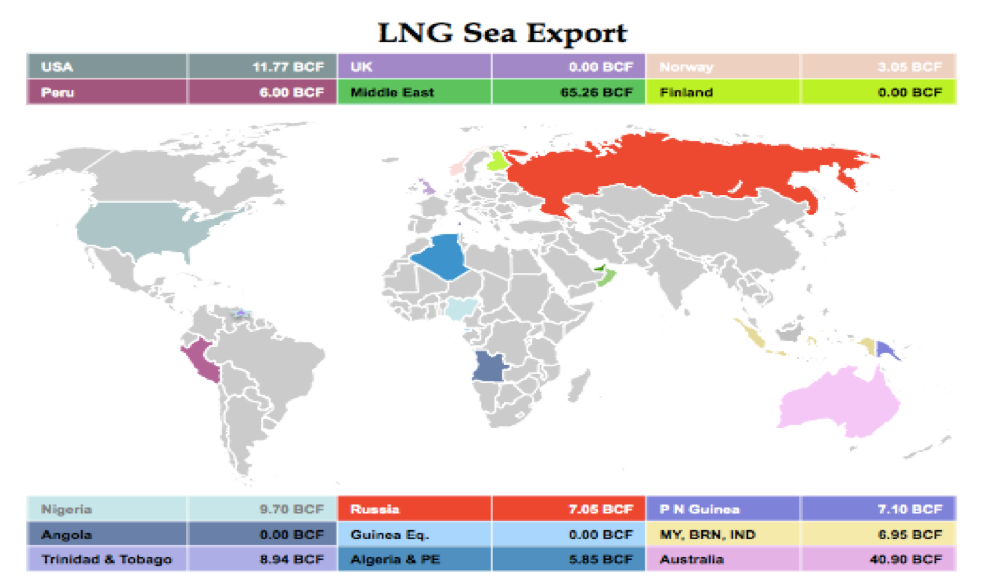 LNG Natural Gas Market Update – 14th - 18th August 2017