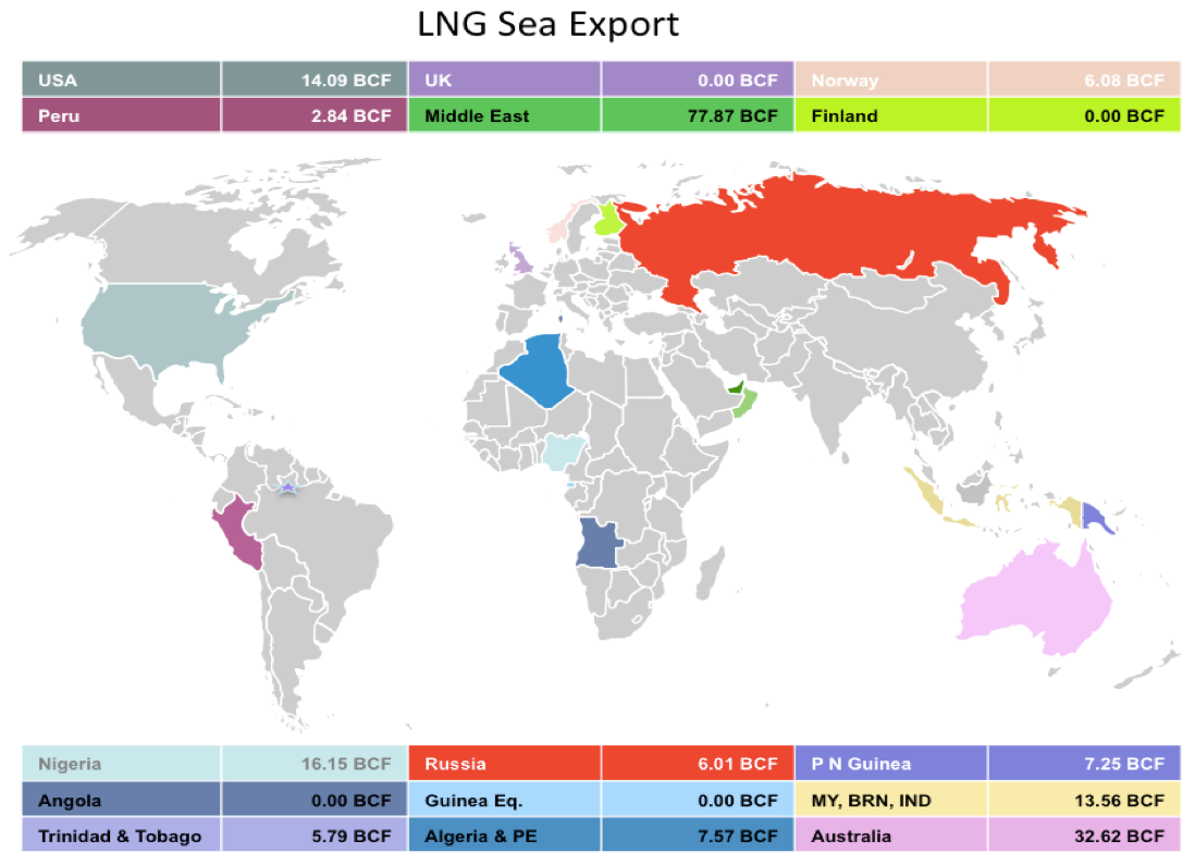 LNG Natural Gas Market Update – 7th - 11th August 2017