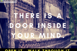 Quote - There's a door inside your mind
