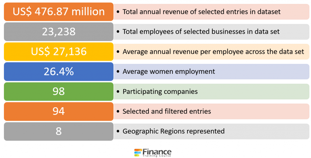Summary profile of participating companies