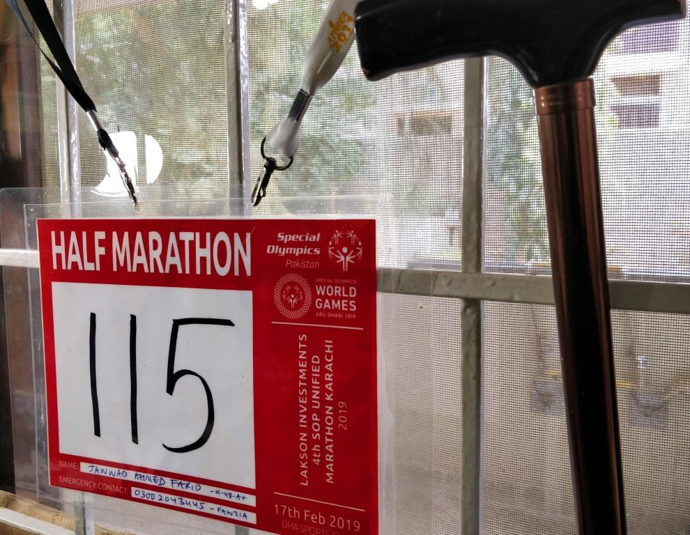 From a wheel chair to a half marathon