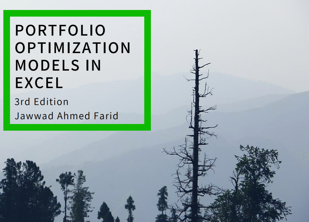 Portfolio Optimization Models in EXCEL