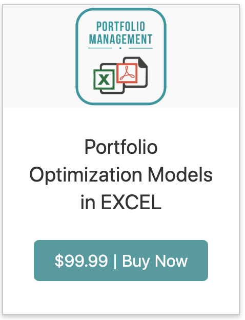 Portfolio Management with Excel Solver