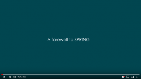 A farewell to SPRING