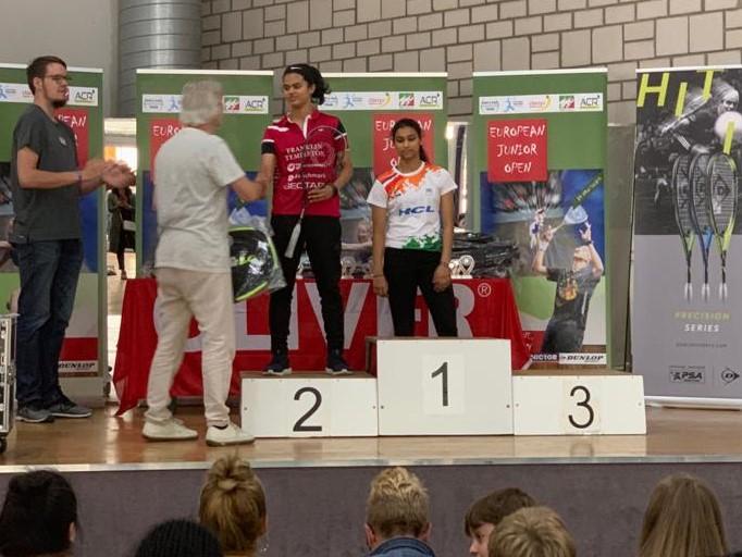 Amal storms into European Junior Open G-U15 final.