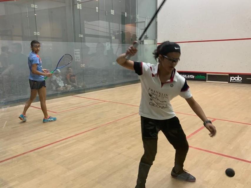 Amal Izhar vs Yuvni Gupta - 8th July 2019. Center Court 1, Cologne, Germany