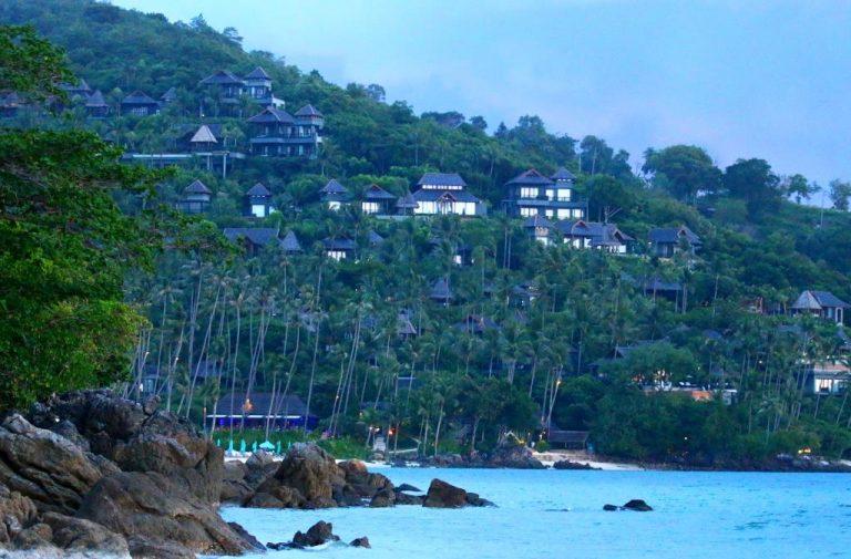 Koh Samui - The Samui Four Season Resort at Bang Po beach