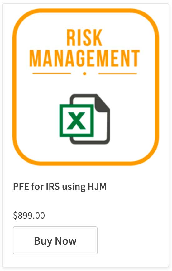 Calculating PFE for IRS using HJM