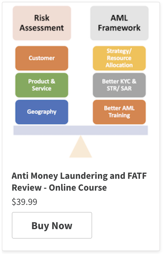 Anti-Money Laundering Programmes - Systems