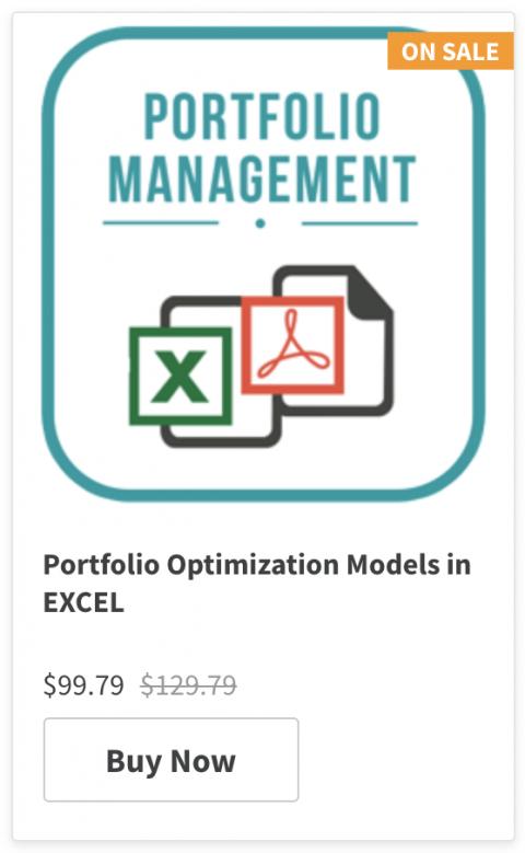 Portfolio Management & Optimization course